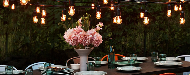 Brighten up your backyard with outdoor lighting